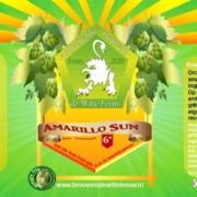 Brouwerij de witte leeuw amarillo sun