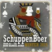Schuppenboer winter rum barrel